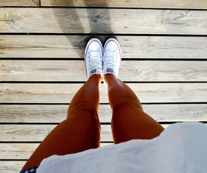 legs, converse, and summer image