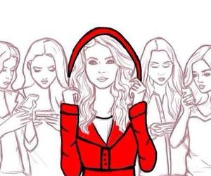 pretty little liars, emily, and spencer image