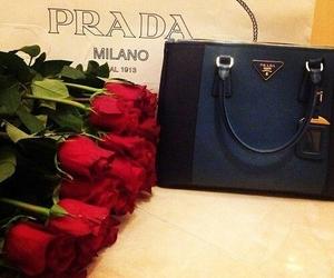 Prada, rose, and bag image