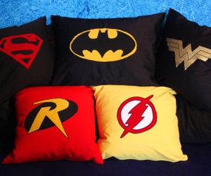 flash, pillows, and robin image