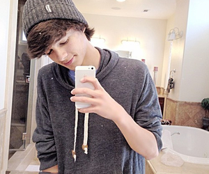 brent rivera and boy image