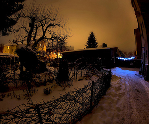 home and snow image