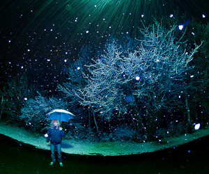 blue, scenery, and snow image