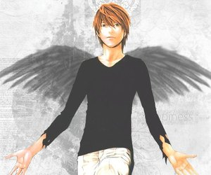 death note, light, and light yagami image