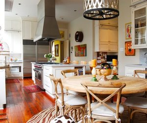kitchen, design, and dining room image