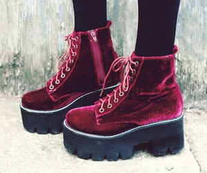 boots, fashion, and creepers image