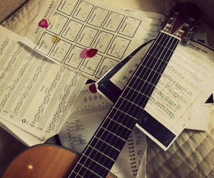 acoustic, grunge, and guitar image