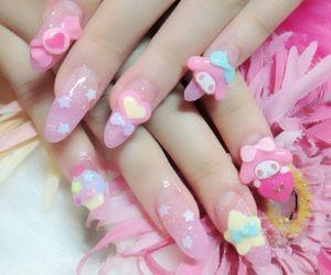 nails, kawaii, and my melody image