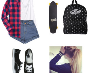 backpack, Polyvore, and tank tops image