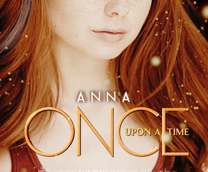 frozen, once upon a time, and anna image