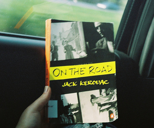 Jack Kerouac and on the road image