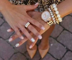 nails, pink, and michaelkors image