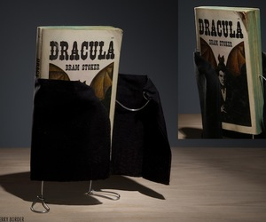 Dracula, book, and movie image