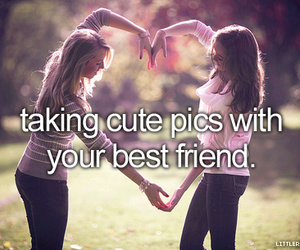 best friends, cute, and heart image