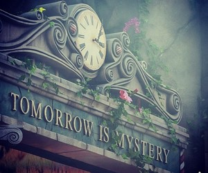 tomorrow, mystery, and Tomorrowland image