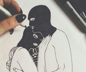 love, draw, and thug image