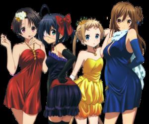 anime, chuunibyou, and lite novel image