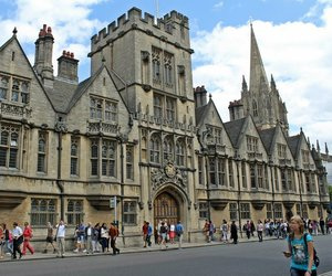 beautiful, building, and oxford image