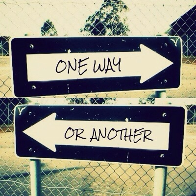 ways, one direction, and one way or another image