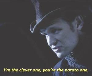clever, doctor who, and potato image