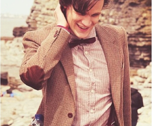 doctor who, matt smith, and smile image