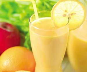 diet, lemon, and smoothie image