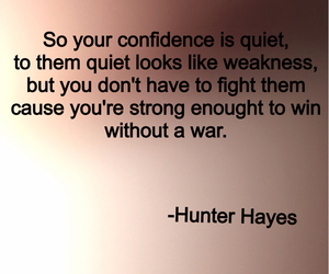 invisible, war, and hunter hayes image