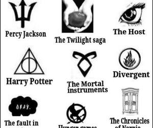 divergent, harry potter, and the host image