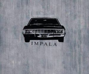 supernatural and impala image