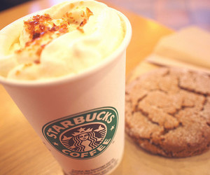 cookie, fashion, and starbucks image