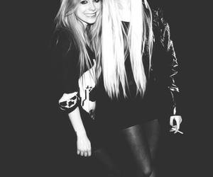 Taylor Momsen, Avril Lavigne, and black and white image
