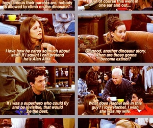 chandler, phoebe, and friendship image
