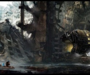 art, fantastic, and matte painting image