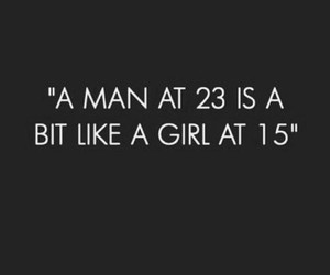 girl, man, and quote image