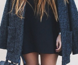 black, clothes, and nice image