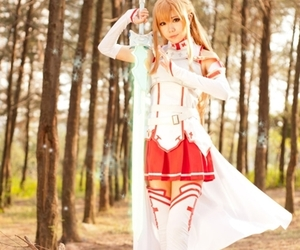 cosplay, anime, and sword art online image