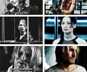 katniss, peeta, and effie image
