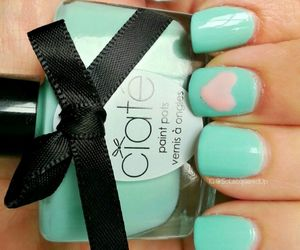 nail lacquer, nail polish, and nails image
