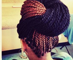 senegalese twist and hairstyle image