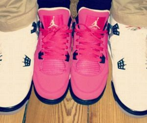 jordan, pink, and couple image