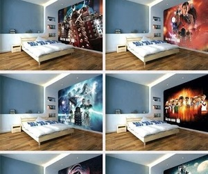 amazing, murals, and doctor who image