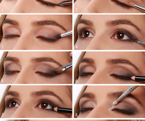 makeup, smoky eye, and tutorial image