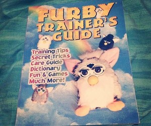 90s, childhood, and furby image
