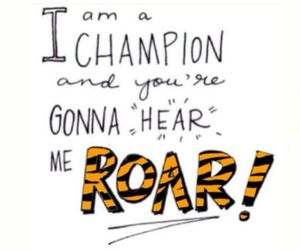 roar, katy perry, and song image