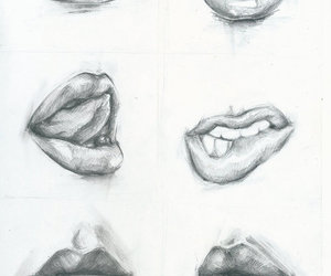 lips, Hot, and mouth image