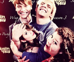 austin and ally, laura marano, and ross lynch image