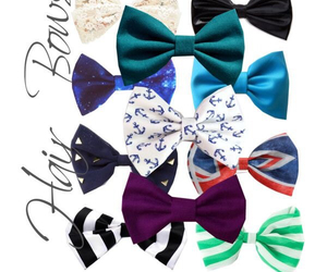 bow, bows, and colors image