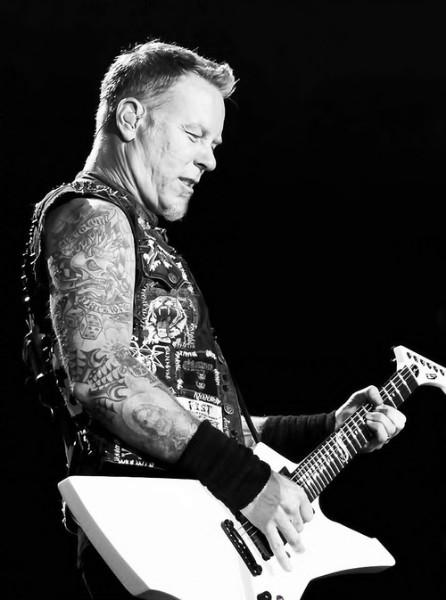 James Hetfield uploaded by Hande Mezgil on We Heart It