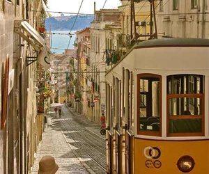 lisbon, portugal, and street image