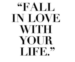 fall in love, life, and quotes image